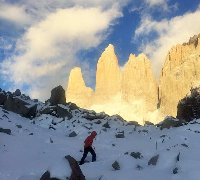 Hike to the Torres in Winter